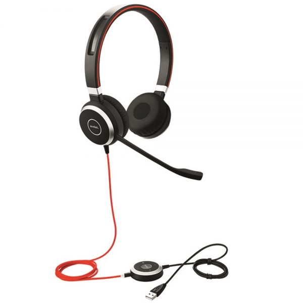 The Jabra Evolve 80 MS Office Headset